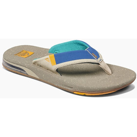 Reef Fanning 2.0 Teenslippers Heren, tan/blue